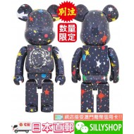 【付款限制】BE@RBRICK BILLIONAIRE BOYS CLUB STARFIELD 1000%