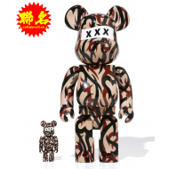 GOD SELECTION XXX x NUMBER (N)INE BE@RBRICK 100% & 400%