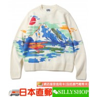 BILLIONAIRE BOYS CLUB SCENIC CREWNECK SWEATER
