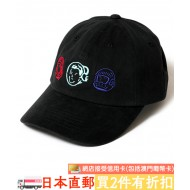 BILLIONAIRE BOYS CLUB MULTI LOGOS DAD CAP