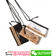 BEAMS REFLECTOR LINE NECK POUCH