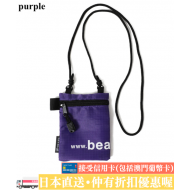 BEAMS NYLON LOGO POUCH