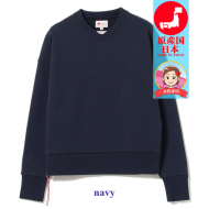 BEAMS JAPAN SWEAT V-NECK PULLOVER