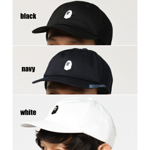 72a65f735a5b A BATHING APE • APE HEAD EMBROIDERY PANEL CAP