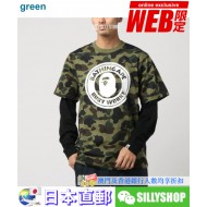 A BATHING APE 1ST CAMO LAYERED L/S TEE