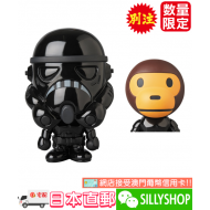 STAR WARS x BAPE BABY MILO VCD SHADOW STORMTROOPER
