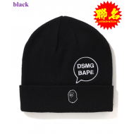 A BATHING APE x DSMG KNIT CAP