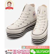 CONVERSE ALL STAR CHUNKY LINE HI (WHT)