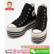 CONVERSE ALL STAR CHUNKY LINE HI (BLK)