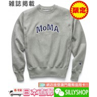 Champion MoMA限定 CREW NECK SWEATSHIRT