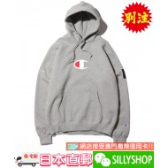 atmos Lab x Champion P/O HOODED SWEATSHIRT (GRY)