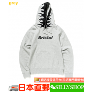 FCRB FIRE FLAME PULLOVER HOODIE