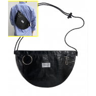JAM HOME MADE NON METAL BUM FLAP SHOULDER BAG (L)