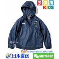 F.C.Real Bristol for KIDS BIG LOGO ANORAK