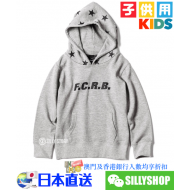 F.C.Real Bristol for KIDS STAR HOOD PULL OVER HOODY