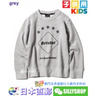 F.C.Real Bristol for KIDS EMBLEM CREW NECK SWEAT
