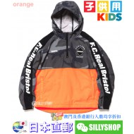 F.C.Real Bristol for Kids HALF ZIP ANORAK