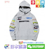 F.C.Real Bristol for Kids MULTI LOGO PULLOVER HOODIE