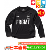 fragment design x FCRB for Kids L/S TRAINING TOP