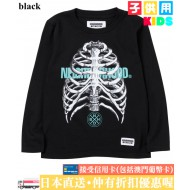 NEIGHBORHOOD ONE THIRD ANATOMY L/S C-TEE