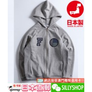 FDMTL SASHIKO PATCHES ZIP PARKA GREY