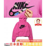 NIKE WMNS NSW ICON CLSH FLEECE HOODIE (PNK)
