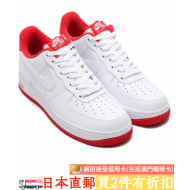 NIKE AIR FORCE 1 '07 (WHT / U.RED)