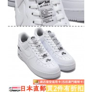 NIKE AIR FORCE 1 '07 LV8 (WHT / BLK)