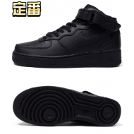 NIKE AIR FORCE 1 MID '07 (BLK / BLK)