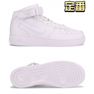 NIKE AIR FORCE 1 MID '07 (WHT / WHT)