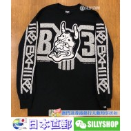 BOUNTY HUNTER x 3T LONG SLEEVE TEE