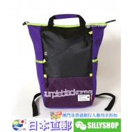 EVANGELION ZIP RUCK SACK BY FIRE FIRST (EVA-01 MODEL)