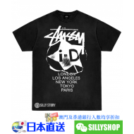 Stussy x I-D magazine I-D INTERNATIONAL TEE