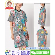 Stussy VACATION CHECKER PRINTED DRESS