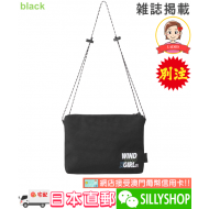 WIND AND SEA x X-girl SHOULDER BAG