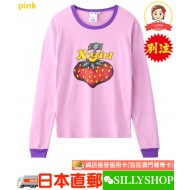 HYSTERIC GLAMOUR x X-girl BERRY L/S BABY TEE