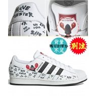 adidas SUPERSTAR (WHT / BLK)