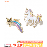 "atmos pink EARRING ""UNICORN x MILKY WAY"""