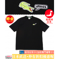atmos x LACOSTE TEE (BLK)