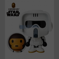 A BATHING APE x STAR WARS VCD SCOUT TROOPER™