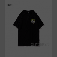 【日本国内限定】BE@RTEE Stussy x MEDICOM TOY SKULL BE@R TEE