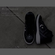 WHIZ LIMITED x mita CONVERSE WEAPON HI BLK / WHITE